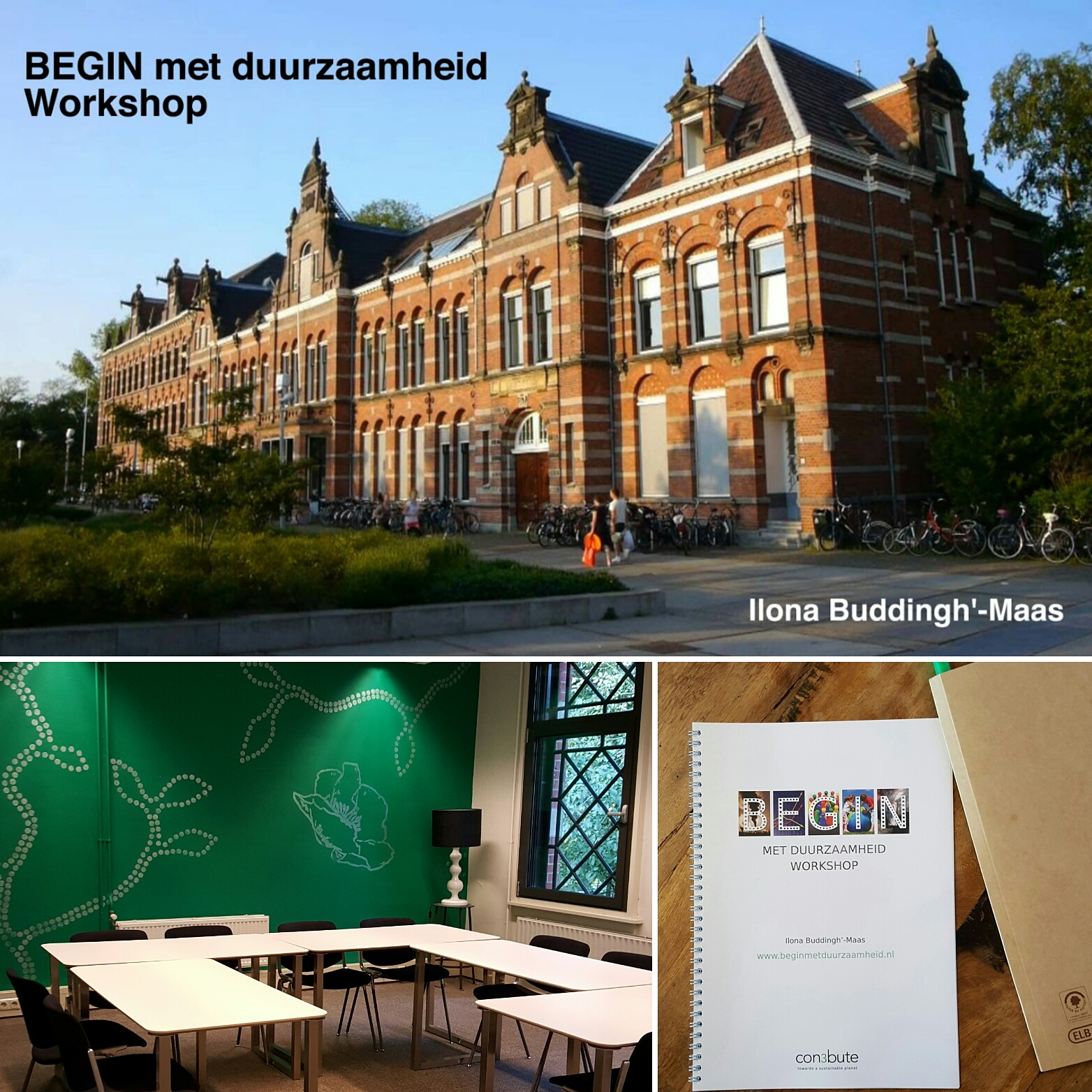 foto BEGIN met Duurzaamheid workshop, ruimte 'Een' Pand 020
